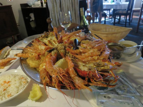 LORD PRAWN : More than enough for two people!