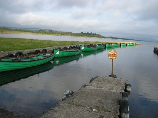 Oughterard, Ireland: Our private jetty
