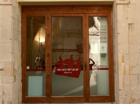 Museo Aretuseo dei Pupi: Ingresso