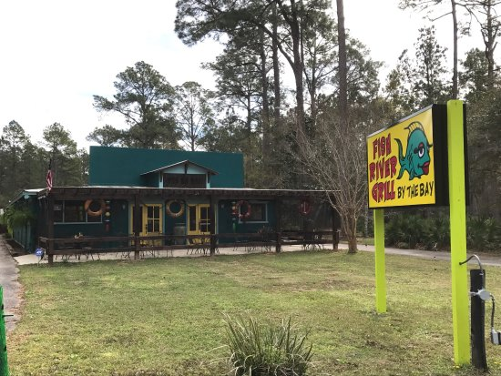 Omg fantastic review of fish river grill by the bay for Fish river grill fairhope al