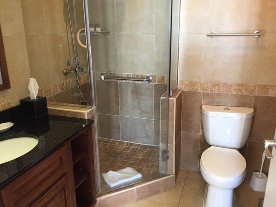 Divi Aruba Phoenix Beach Resort: The en suite bathroom