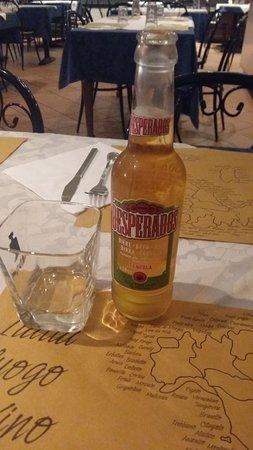 Pizza King: Buona birra Desperados