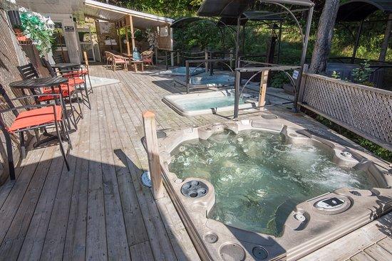 Hotel Spa Watel : Espace spas et foyers