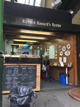 Photo of Seafood Restaurant Richard Haward's Oysters at Stoney Street, London SE1 1TL, United Kingdom