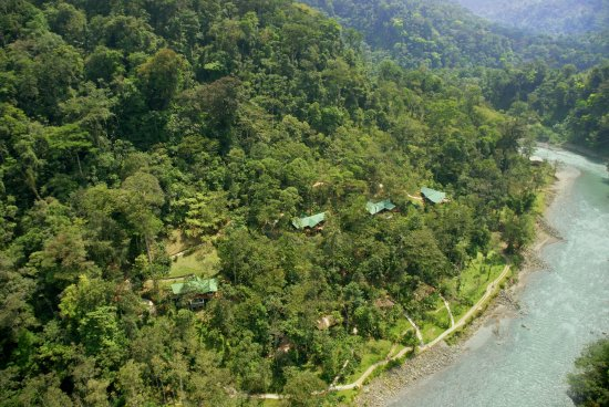 Pacuare Lodge - Aerial View