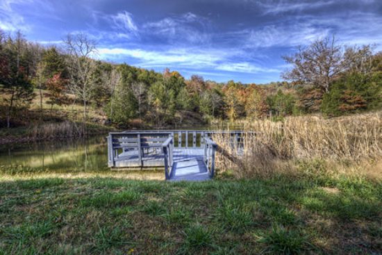 Two stocked fishing ponds on site picture of retreat at for Stocked fishing ponds