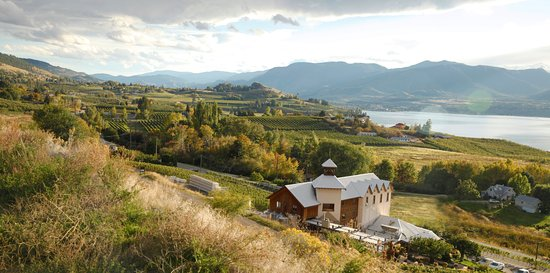 Penticton, Canada: Hillside Winery KVR View