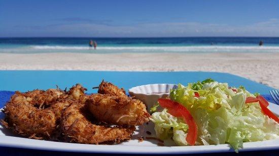 Restaurante Las Estrellas: coconut shrimp