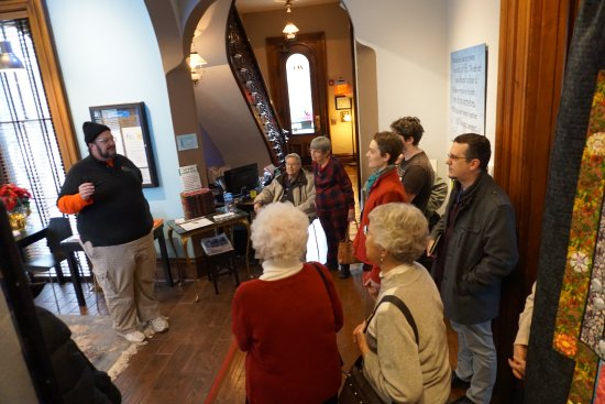 Dayton International Peace Museum: Volunteer docents conduct tours Wednesday-Sunday from 1 to 5pm free of charge.