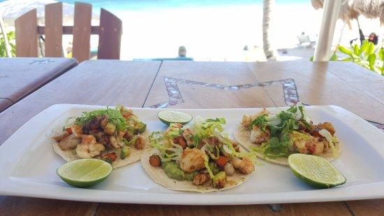 Restaurante Las Estrellas: seafood tacos