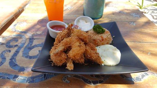 Restaurante Las Estrellas: more coconut shrimp