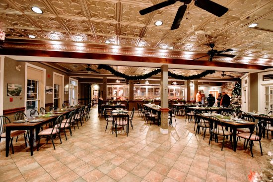 Burleigh Falls, Καναδάς: Upstairs banquet room