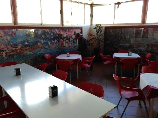 Lecrin Valley, Spain: Bar Tables on first floor