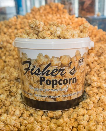 Fisher's Popcorn: Bucket