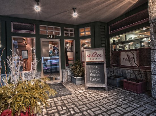 Alta Bistro : Welcome to Whistler's local bistro