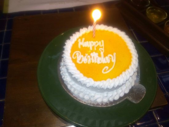 Barbeque Nation: Complimentry Cake
