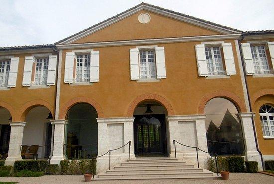 Barbotan-les-Thermes, Francia: façade