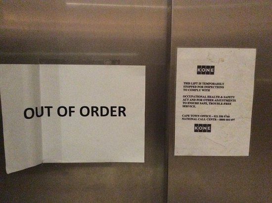 Gods lift is out of order