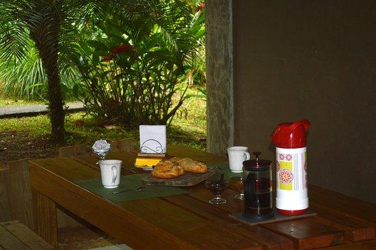 Исла-Попа, Панама: Petit déjeuner continental