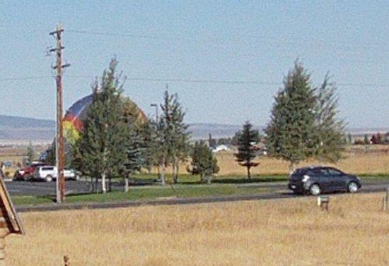 a balloon landing driggs idaho