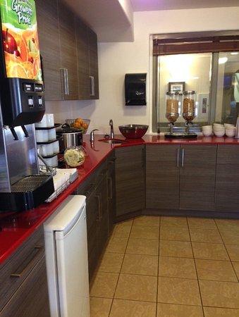 Truro, Canada: Breakfast Area
