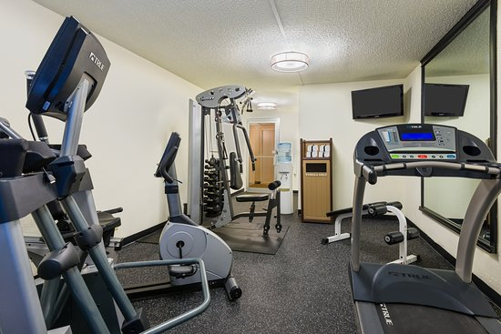Comfort Inn Westport: Need more than our onsite workout room? We offer free passes to the Edward Jones YMCA.