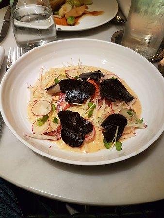 The Modern: Risotto de Lagosta com trufas negras, super saboroso