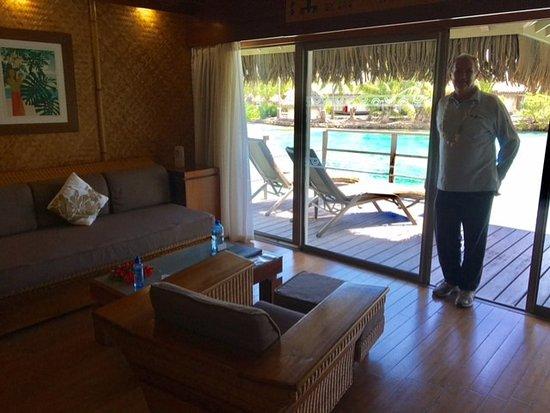 Living Room Jr Suite Beach Bungalow Picture Of