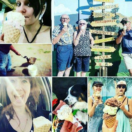Okanagan Falls, Kanada: All roads lead to Tickleberrys!