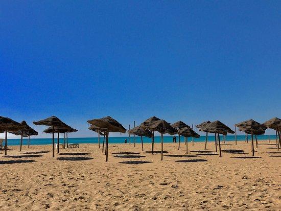 Hotel Palace Hammamet Marhaba: Mélissa mélo entre plage , piscine , plats de l'hôtel 5 *****