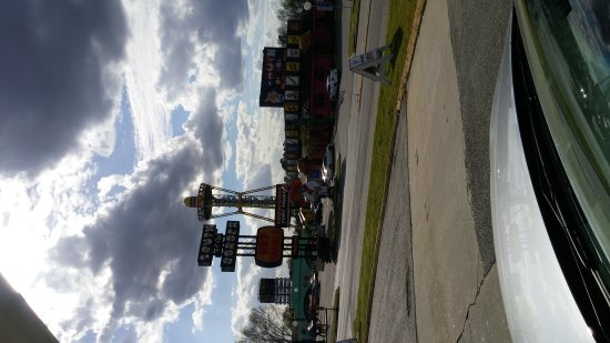 Dillon, SC: View from the gas pump