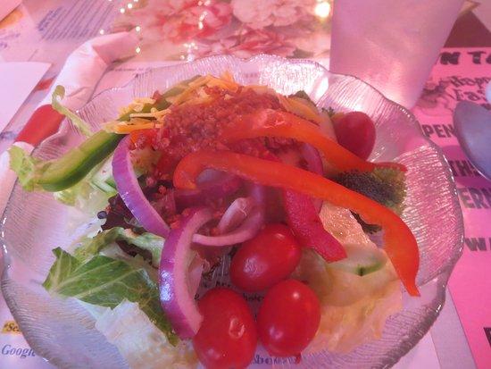 West Milford, نيو جيرسي: Delicious salad
