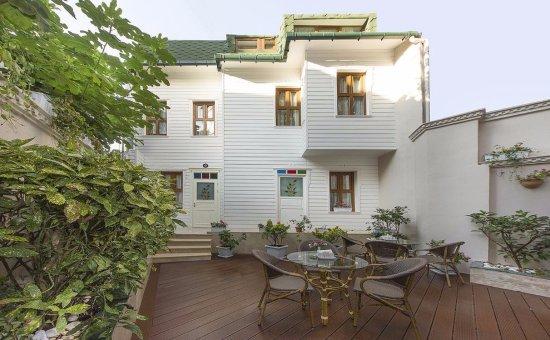 Kupeli Palace Hotel: bahçe