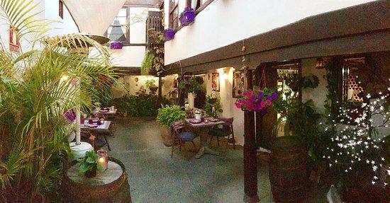 Hotel Rural Casona Santo Domingo : Patio Restaurante
