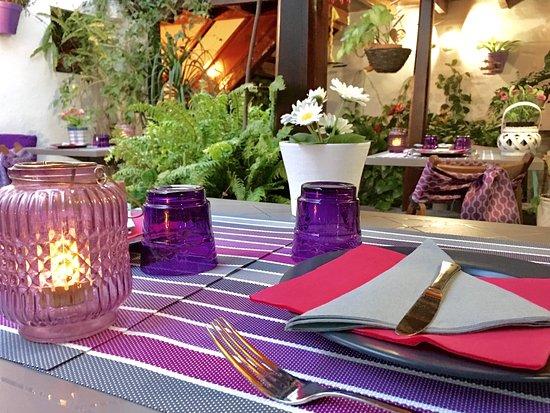 Hotel Rural Casona Santo Domingo: Patio Restaurante