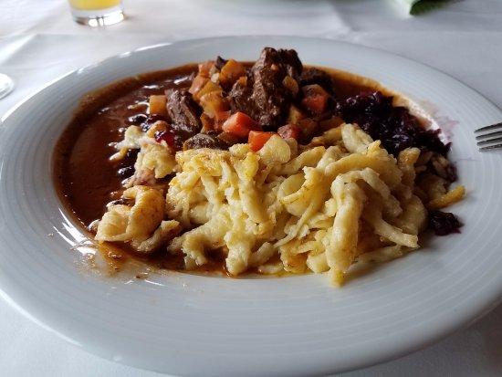 Mühltal, Deutschland: venison goulash