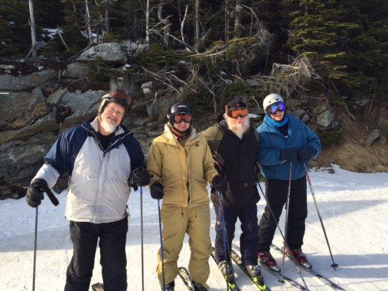 Killington Resort: Four veteran skiiers