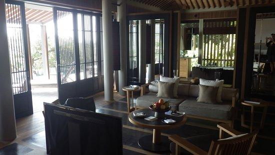 Ninh Phuoc, Wietnam: Pool villa lounge