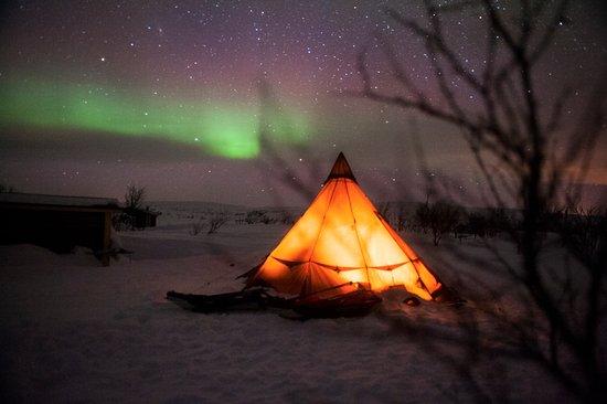 Nuorgam, Finnország: Northern Lights
