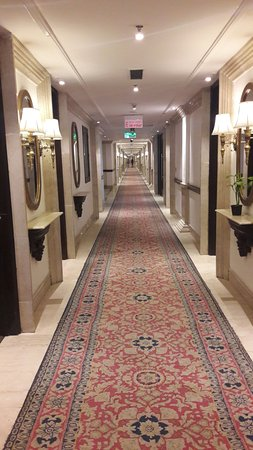 The Ashok: It is the fourth floor of the hotel.
