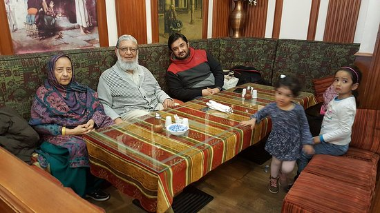 Harput: Me, my wife Sabiha, my son Wasif and the grand-daughters Hamna and Ishaal feeling comfortable he