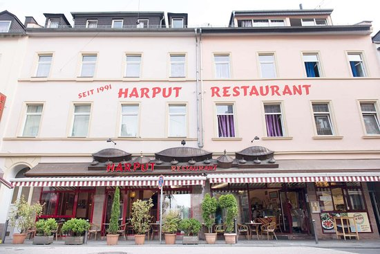 Harput: The outer view of the restaurant.