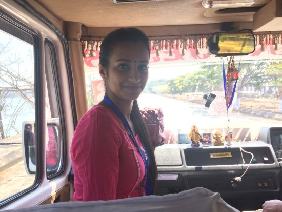 Mangalore Private Day Tours: Fidola, our guide