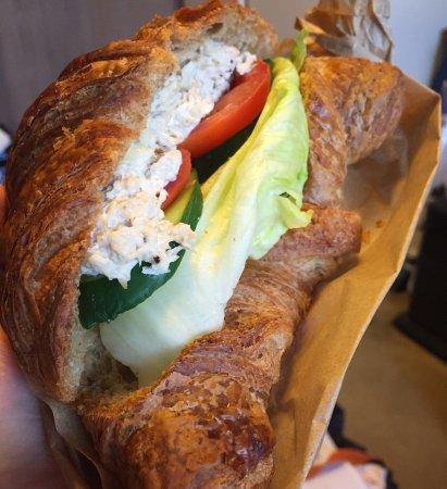 La Palme D'or: 1) Strawberry Shortcake, 2)Assorted Cakes, 3)Croissant, 4)Tuna Croissant Sandwich, 5)Jelly Coffe