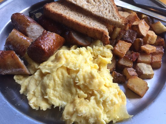 Athens, GA: Egg Plate with sausage added
