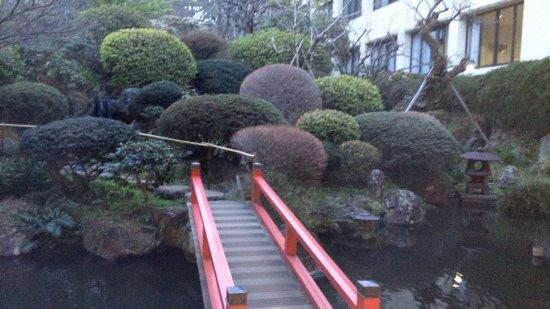Izuajiro Onsen Shofuen: 敷地の日本庭園