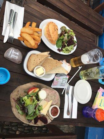 Kingsand, UK: Lovely lunch!