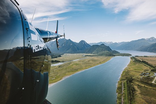 SKY Helicopters Inc.: SKY Helicopters - River Adventure -tour - no looking back!