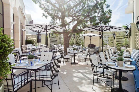 The Peninsula Beverly Hills: The Belvedere Terrace