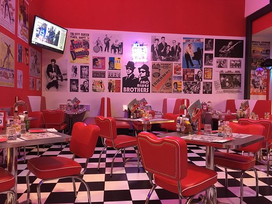 Picture of america graffiti diner restaurant for Restaurant reggio emilia